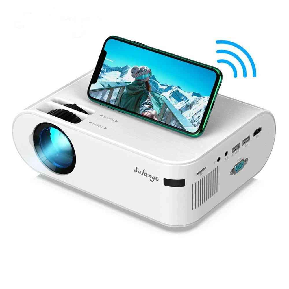 P62 Mini Projector, 720p, 3000 Lumens-led Video Beamer, Support Full Hd 1080p