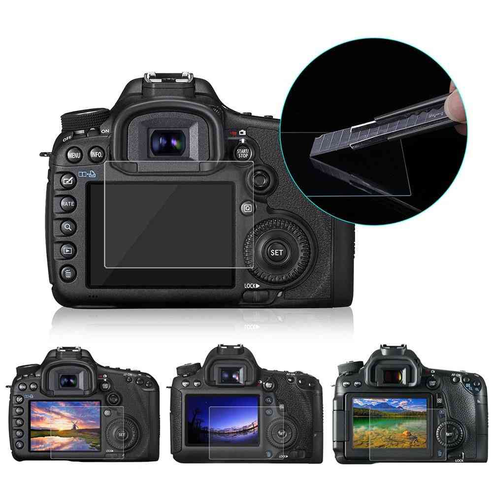 Screen Protecto-tempered Glass For Canon 5d Mark Iii, Iv, Eos, 6d, 7d