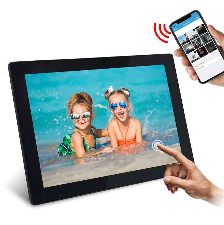 Wifi Digital-picture Photo Frame, Ips Touch Screen