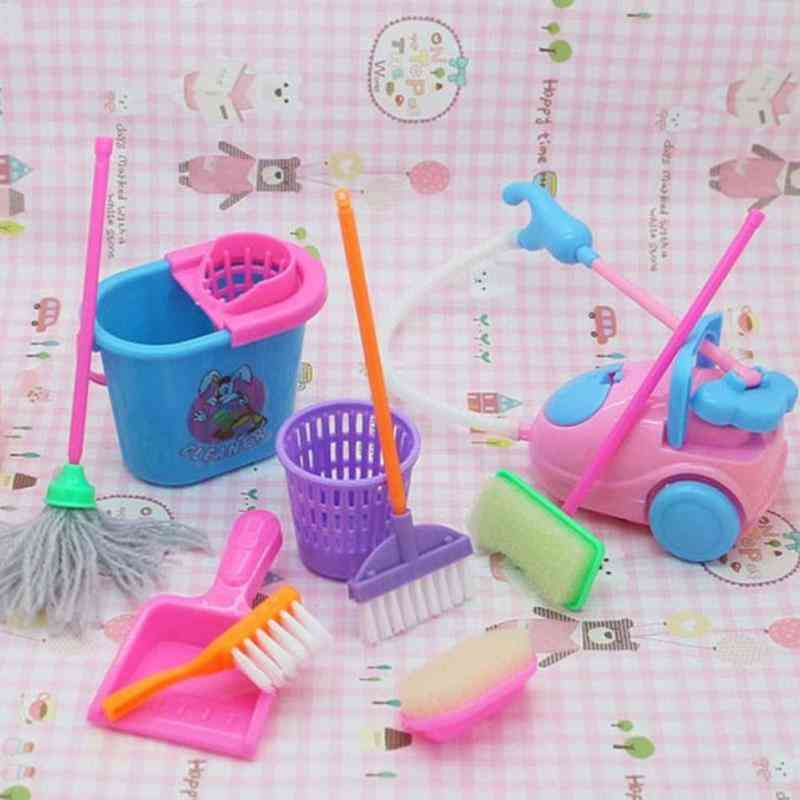 9pcs/set House Cleaning Tool - Pretend Play