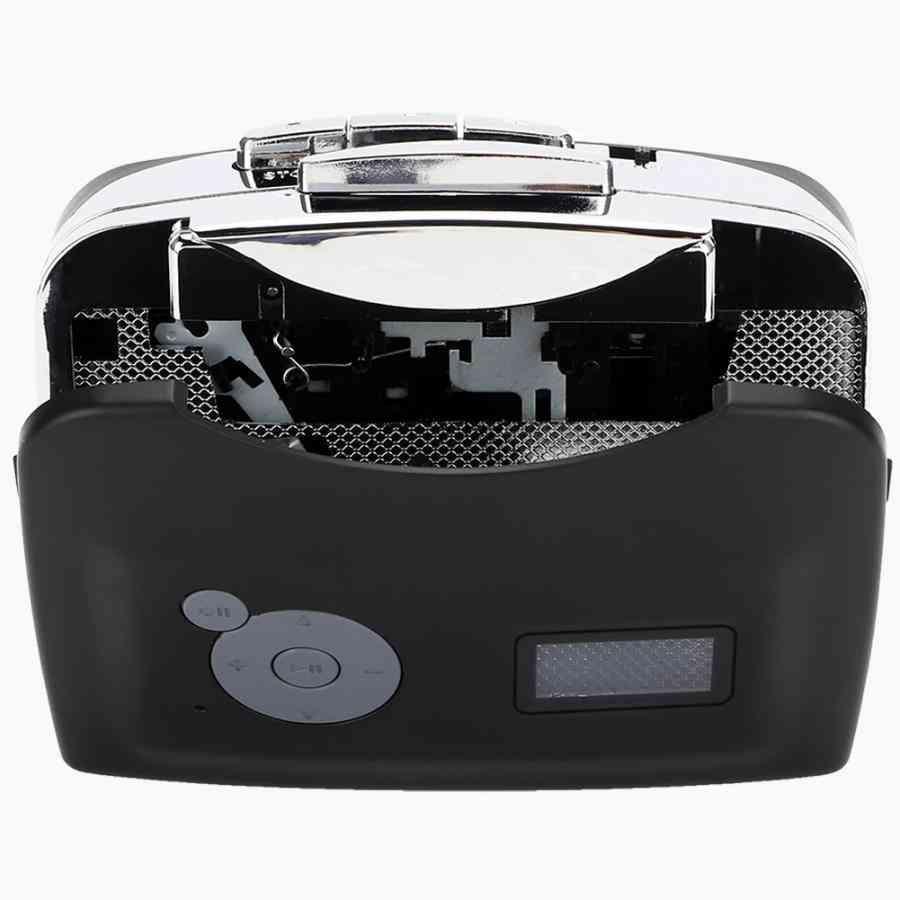 Usb, Digital Cassette To Mp3 Converter With Headphones