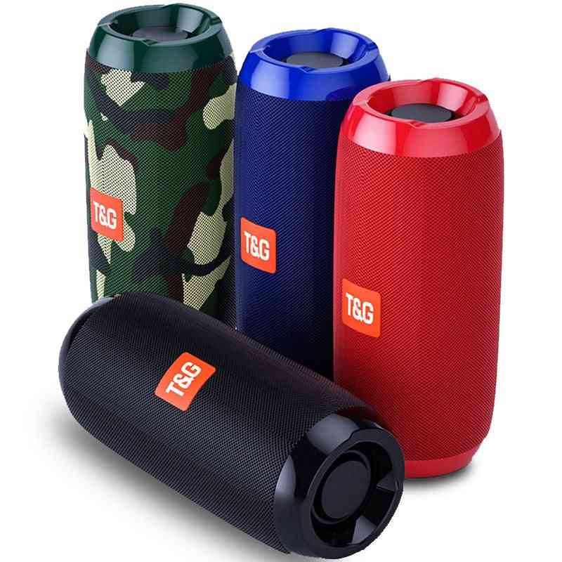 Water Proof, Portable, Cylindrical Shape Wireless Subwoofer/bass