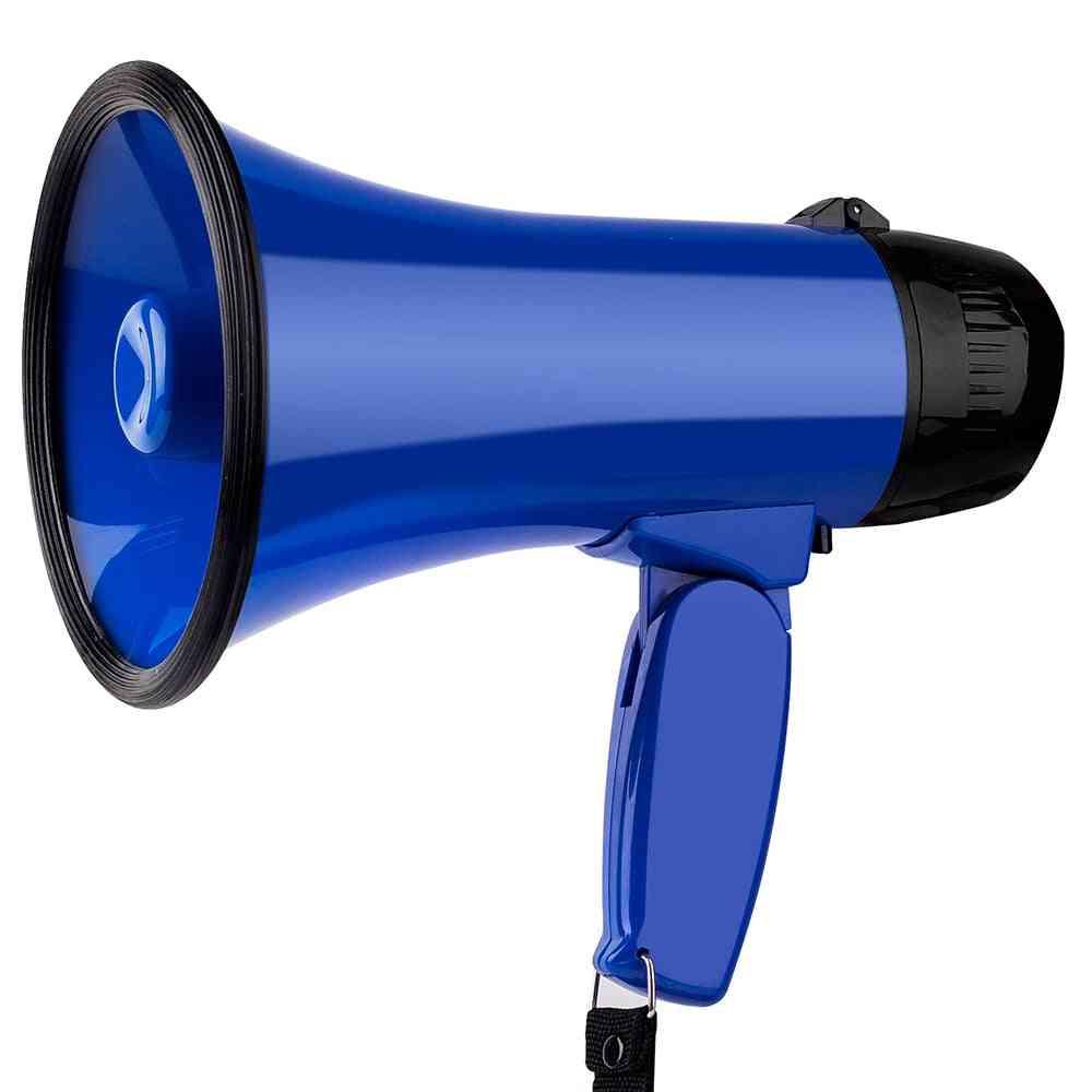 High Power 25w Portable Hand Speaker - Megaphone Strap Grip Loudspeaker  (no Battery)