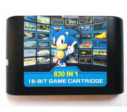 The Ultimate 830 In 1 Edmd Remix Game Cartridge