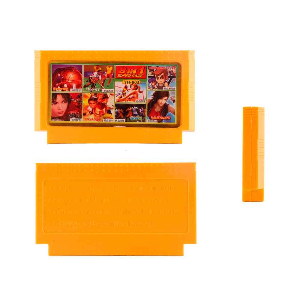Game Cartridge - Video Games Memory Cards And 8 Bit 60 Pins Console