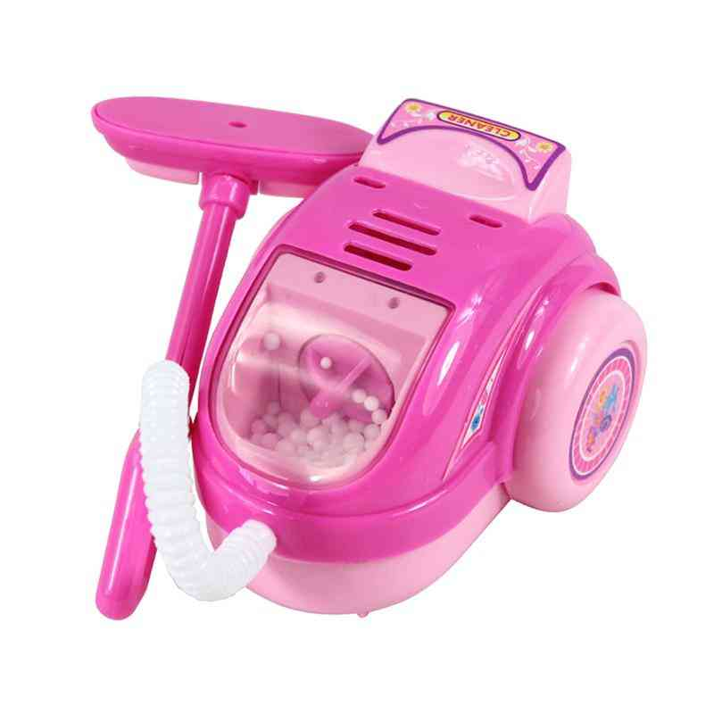 Vacuum Cleaner Electric Plastic Lightweight Mini Cleaning, Diy Educational