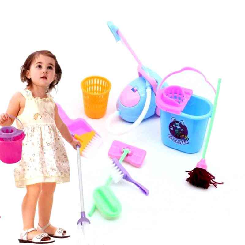 Multi-functional Furniture Cleaning Toy Kit