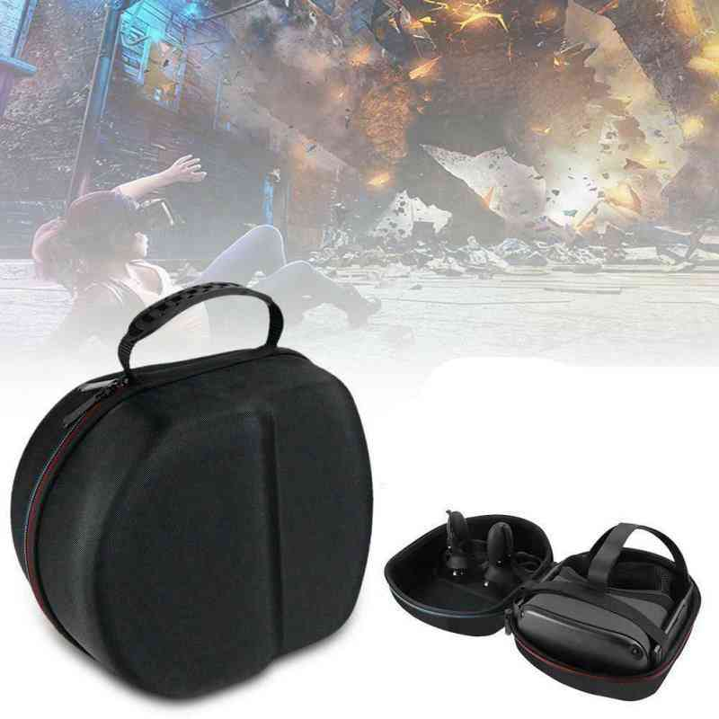 Dustpfoof Vr Carrying And Storage Box For Oculus Quest Gaming Headset