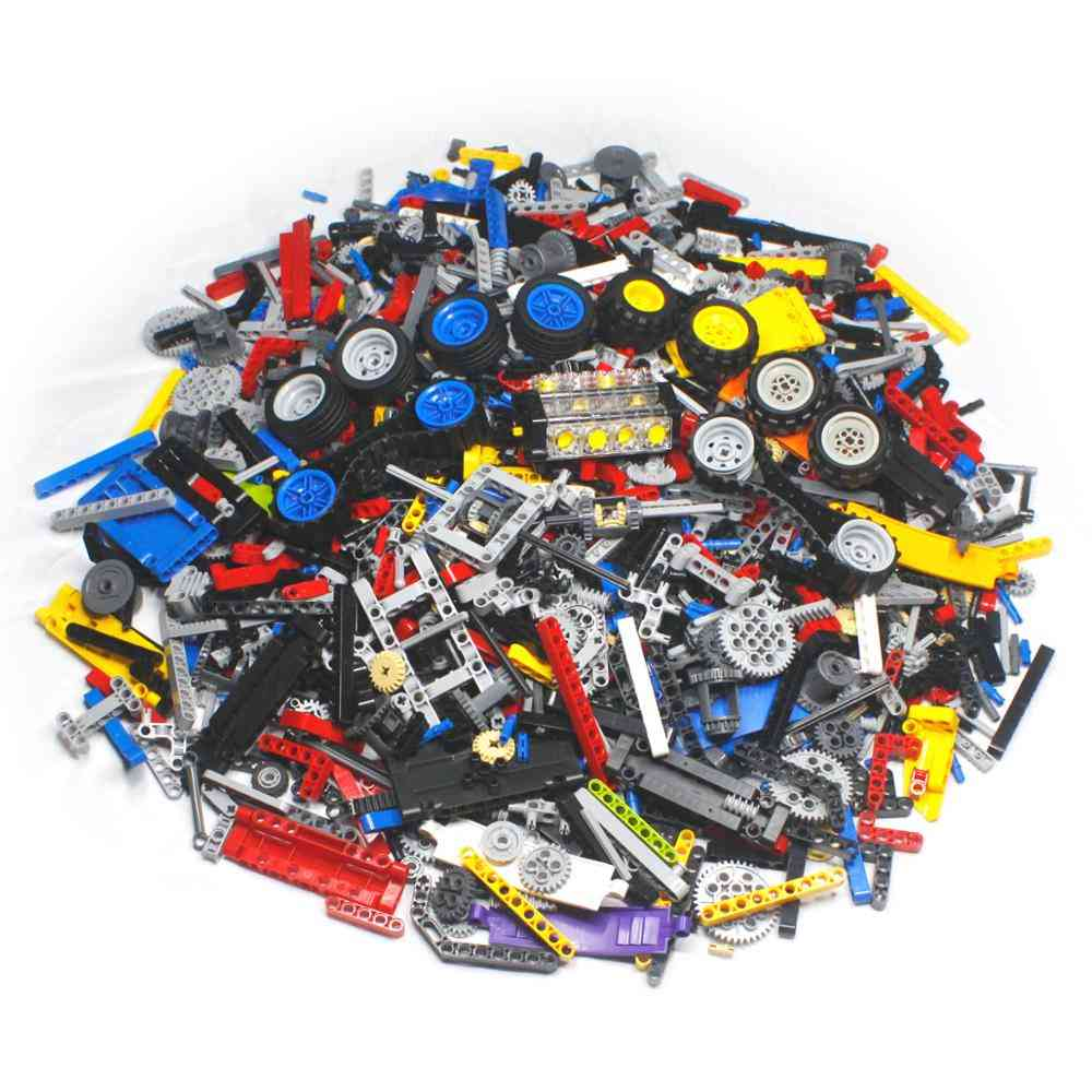 Building Blocks Sets-classic Technic Creator Bricks, Educational