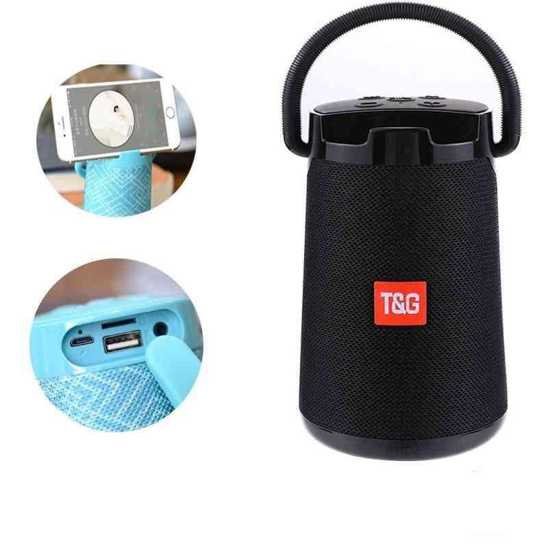 High Power Bluetooth Speaker -waterproof 3d Stereo Player Subwoofer