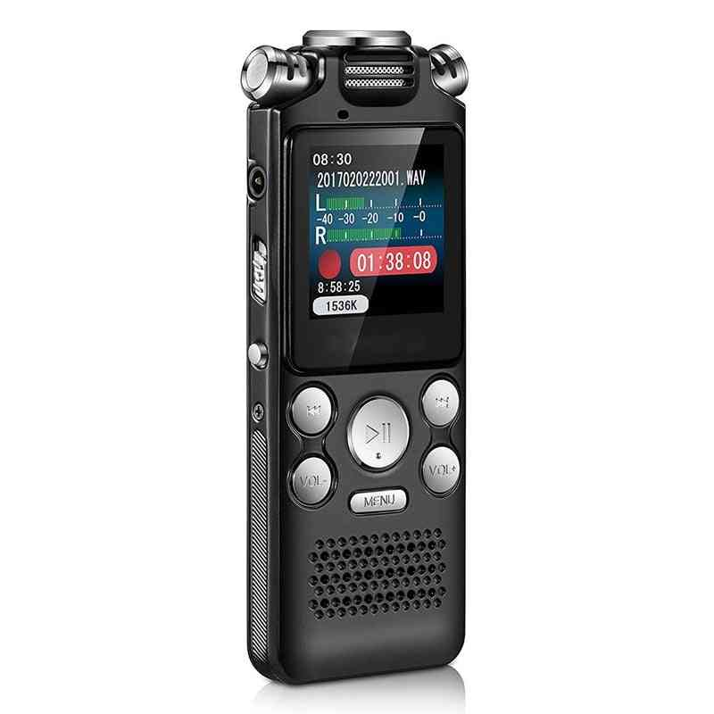 Digital Audio Voice Recorder - Pen Activated Sound Dictaphone Mp3 Player