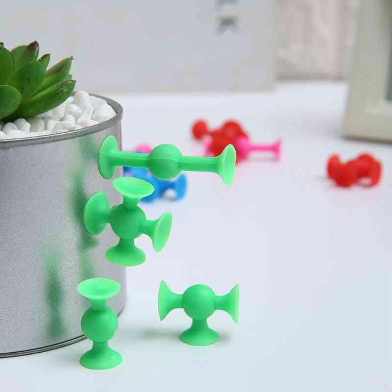 Children's Puzzle And Plastic Creative Sucker