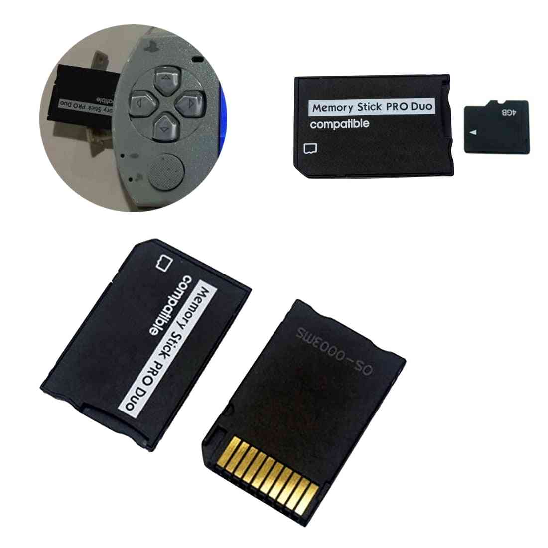 Micro Sd To Memory Card Adapter Stick For Psp