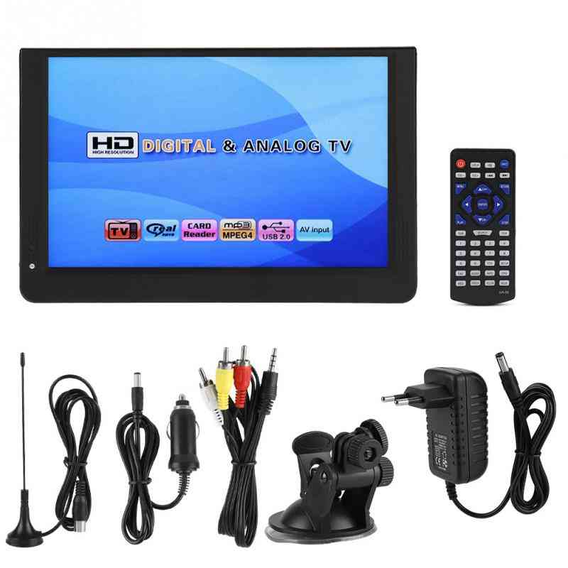 12inch Digital Analog Television Player With Eu Plug