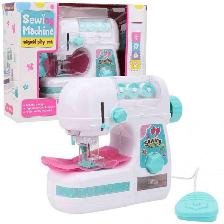 Mini Sewing Machine, Educational Interesting For Kids Pretend Play Housekeeping