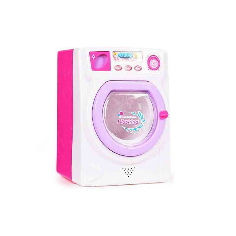 Eletronic Pretend Play Mini Roller- Washing Machine With Sound And Lights