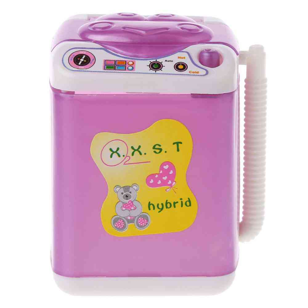 Furniture Washing Machine For Barbie Doll House Baby Doll Accessories