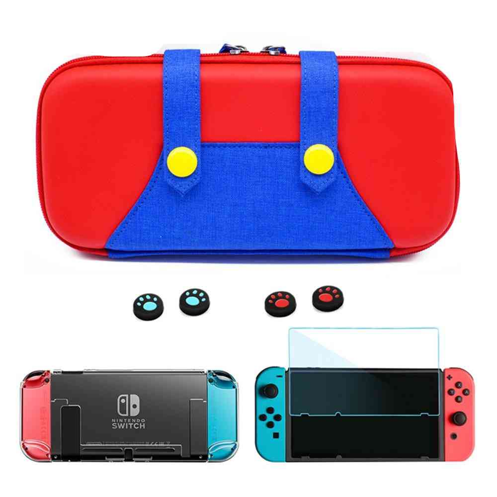 Portable Case For Switch Storage Bag - Hard Shell Pouch
