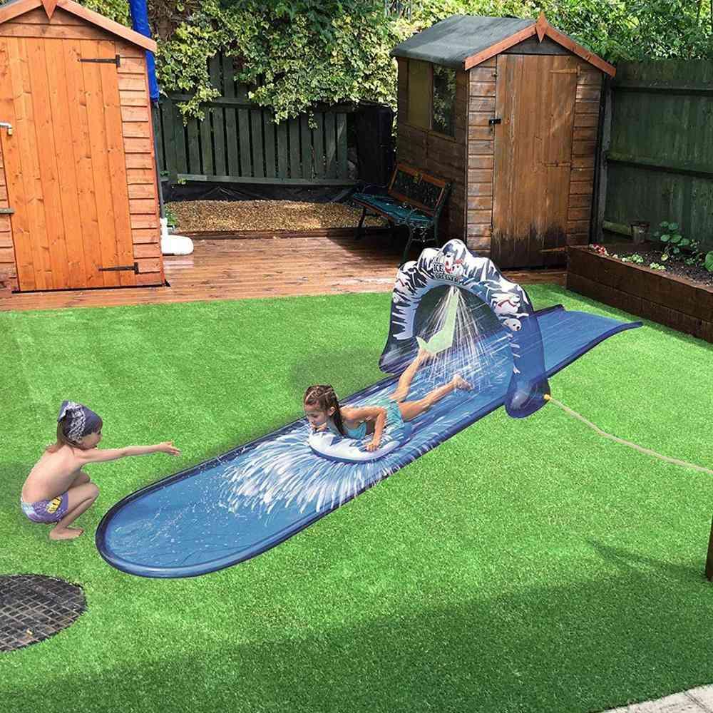 500x95cm Speed Blast Water Slide Wave Rider With Spray Function Summer Fun For Children