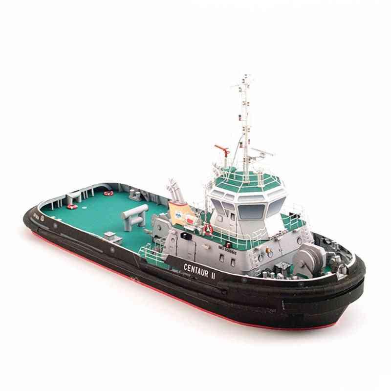 Polish Centaur Ii Tugboat 3d Paper Diy Ship Navigation Model