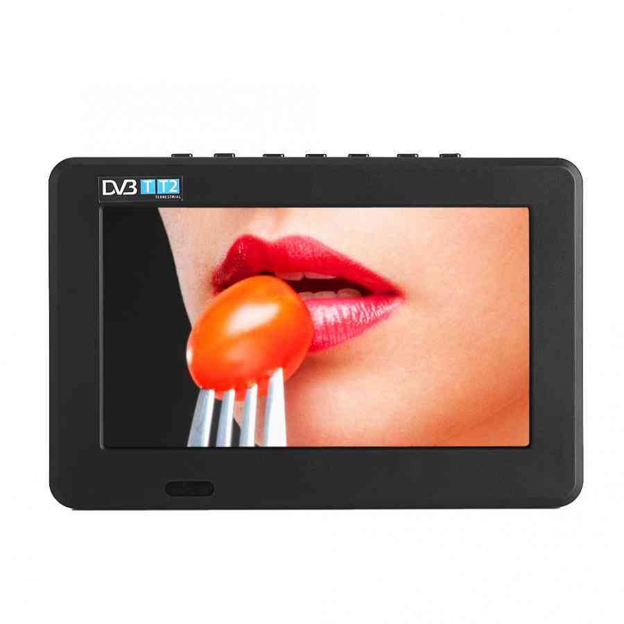 Dvb-t-t2 Digital Analog Resolution Portable Television