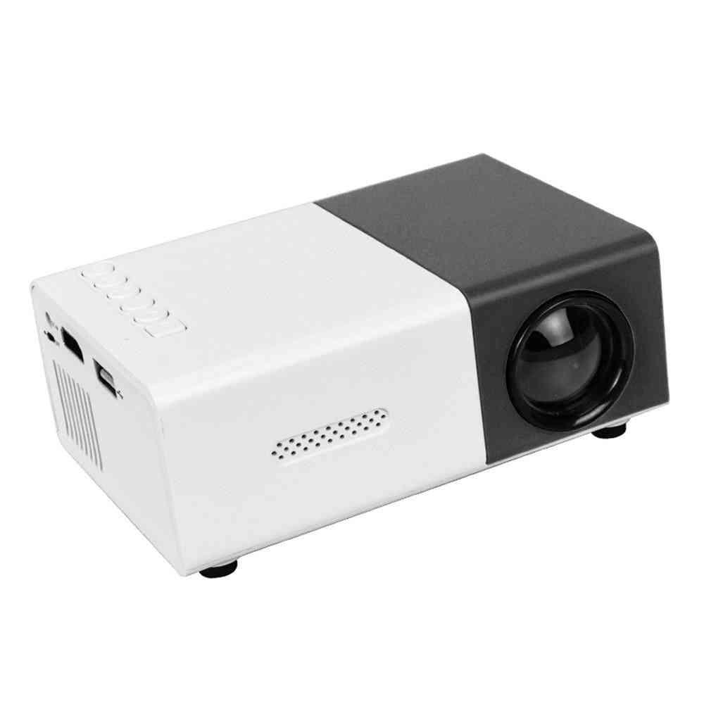 Pro Mini Projector-320x240 Pixels, Support 1080p, Hdmi