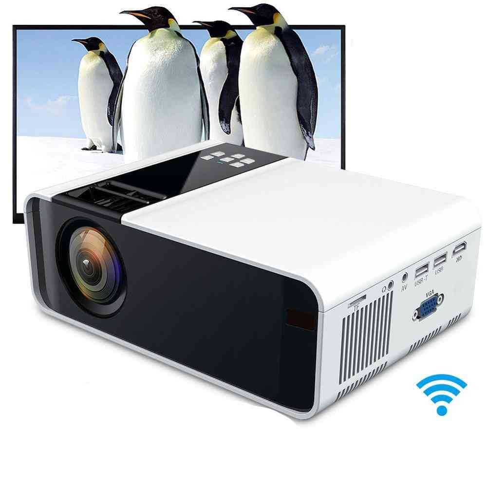 4k, Wifi, Bluetooth, 3d Hd 1080p, Led Projector-android Version