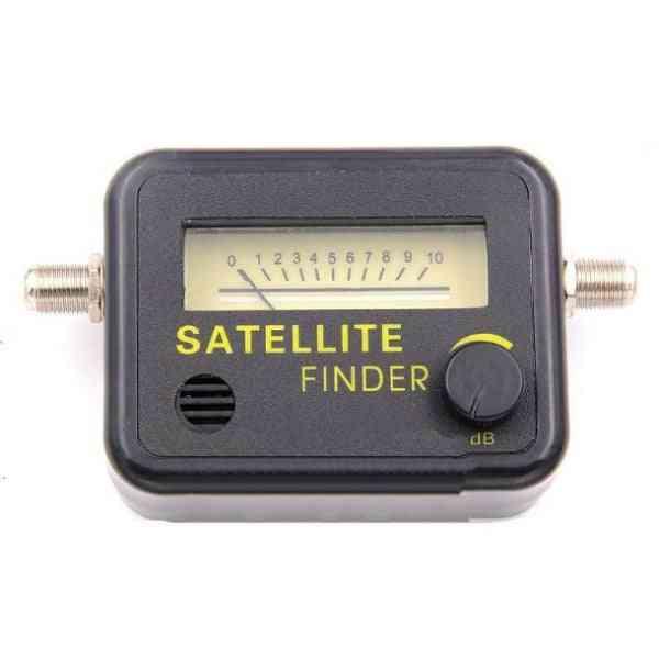 Satellite Tv Signal Finder- Meter Receptor For Dish Tv