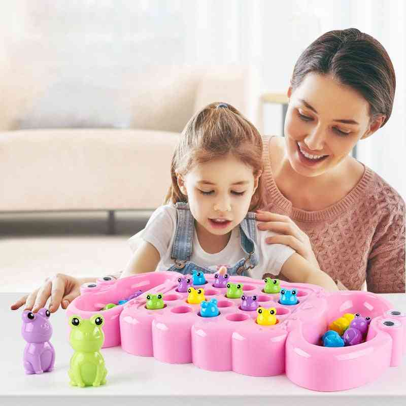 Baby Catch Frog And Greedy Beans - Early Teach Fun Puzzle Interactive Table Game