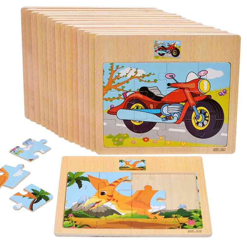 3d Montessori Educational Wooden For Early Learning