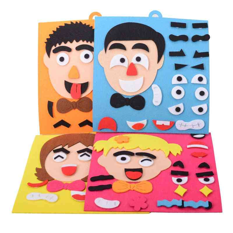 Facial Kids Expressions Wooden Puzzles