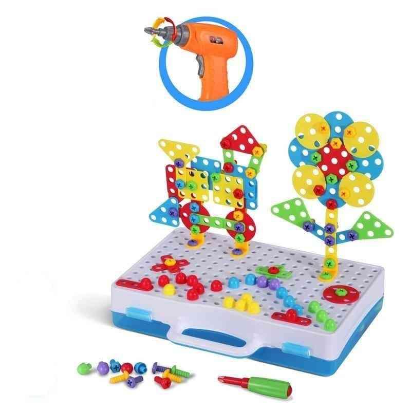 3d Diy Puzzle Pretend Tools - Creative Educational Toy