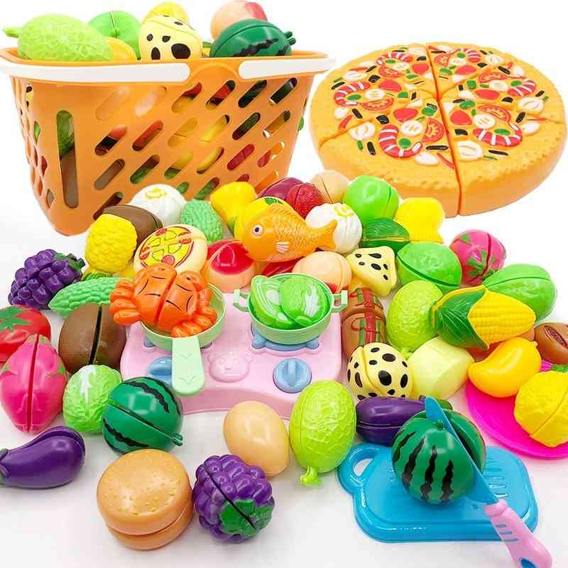 Plastic Fruit And Vegetables Simulation For Classic Educational