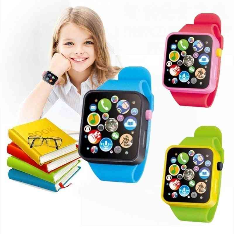 Montessori Electronic Watch - Clock Up Watch Things For