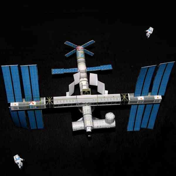 Diy Puzzle Handicraft Course Space - Origami Paper Model