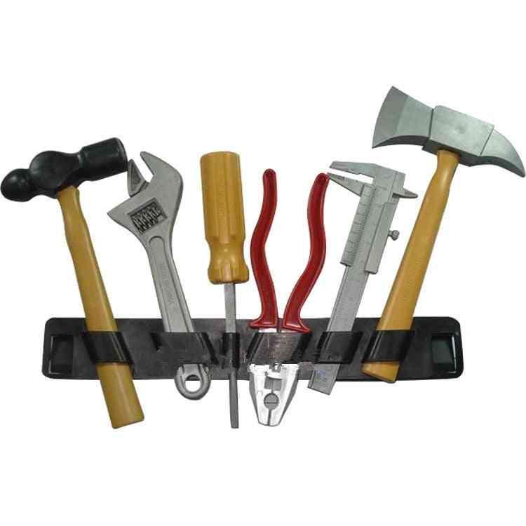Diy Construction Intellectual Plastic Building Tool Kits Set Toy
