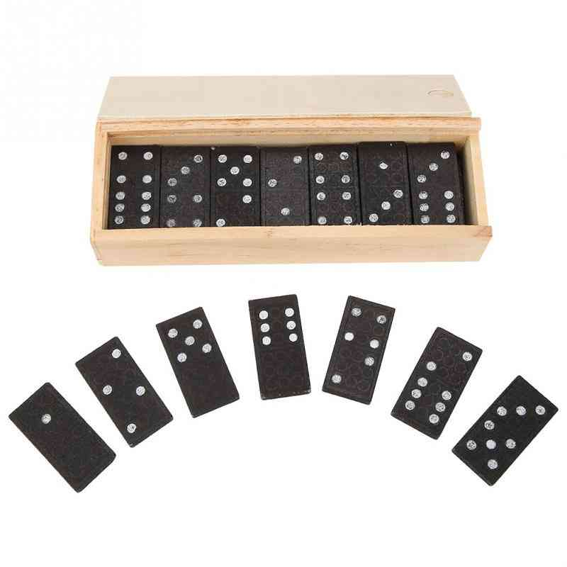 Wooden Domino Board Games - Educational