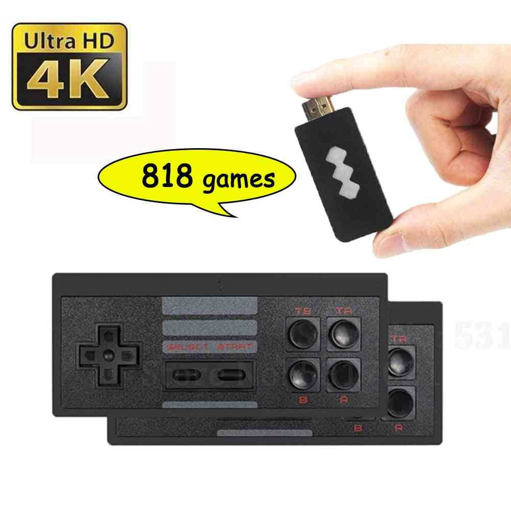 4k Games, Usb Wireless Console, Classic Game Stick Video Game