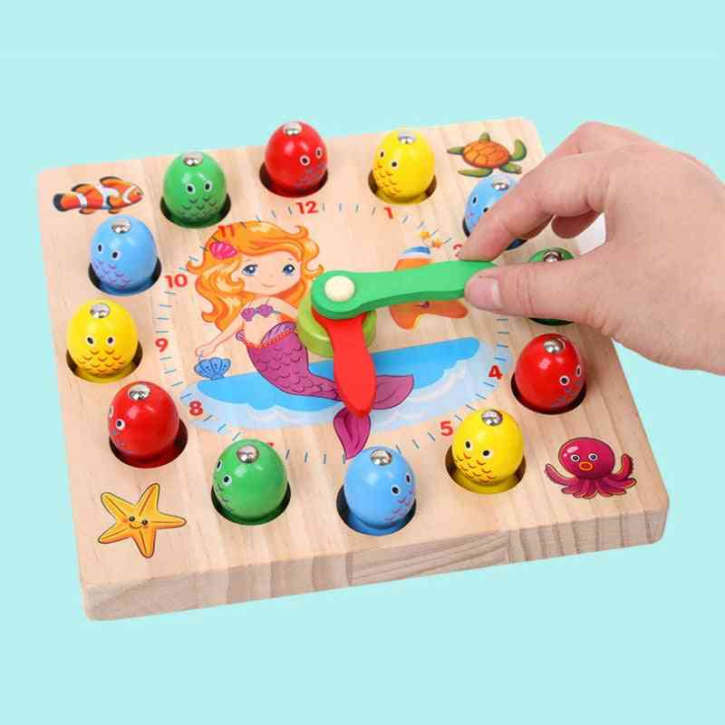 Montessori Baby Educational Wooden, Early-learning Baby-toys