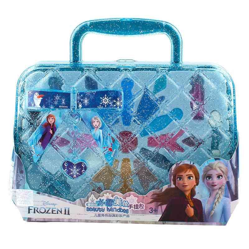 Princess Handbag, Makeup Set Disney Kids  Beauty Play Toy Box