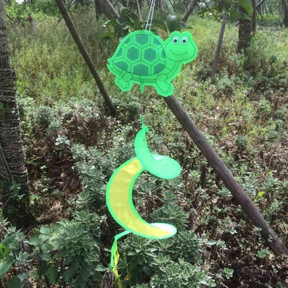 1pc Animal Spiral Windmill, Colorful - Wind Spinner, Lawn Garden Yard