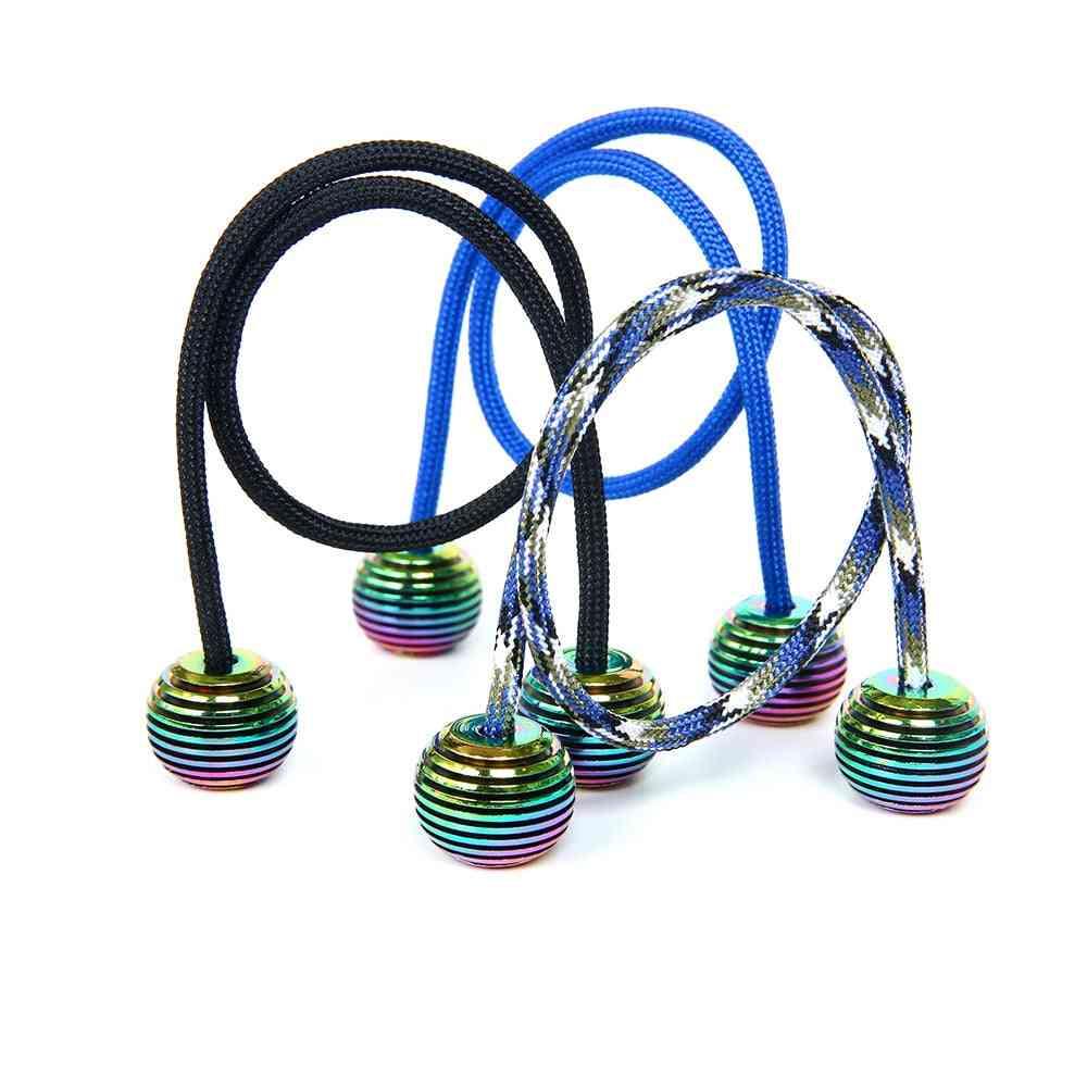 Anti-stress Mini Begleri Metal Fidget,  Multicolor Stress Relief, Sensory