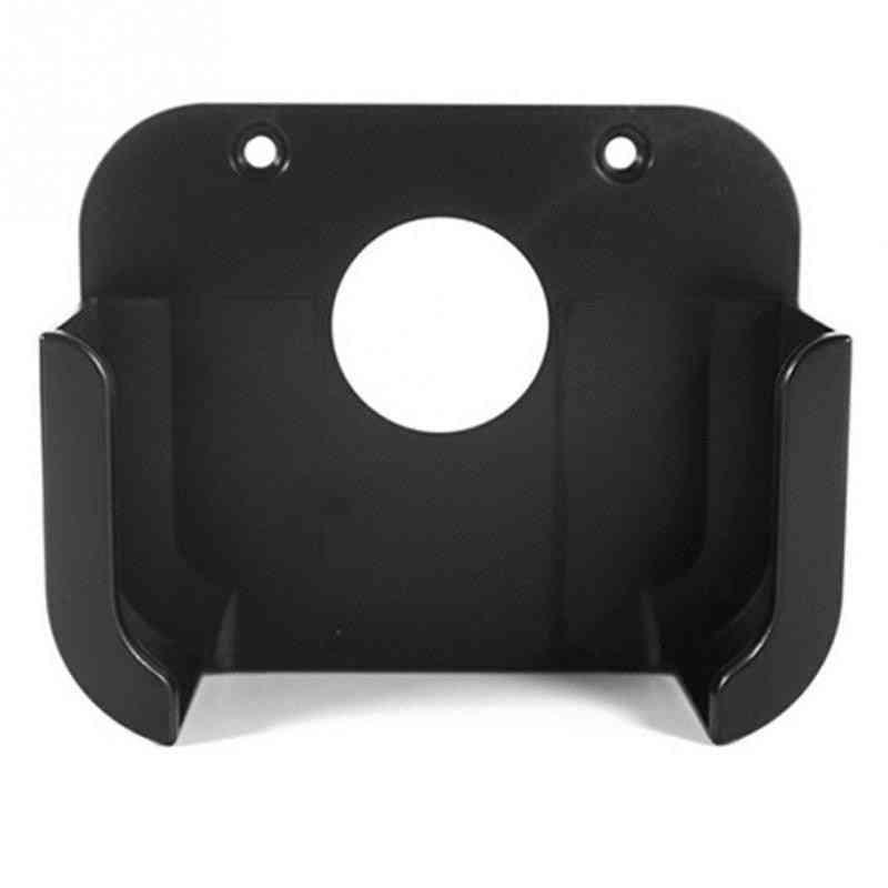 Black Square Plastic Media Player Wall Mount Bracket- Stand Holder Case For Apple Tv
