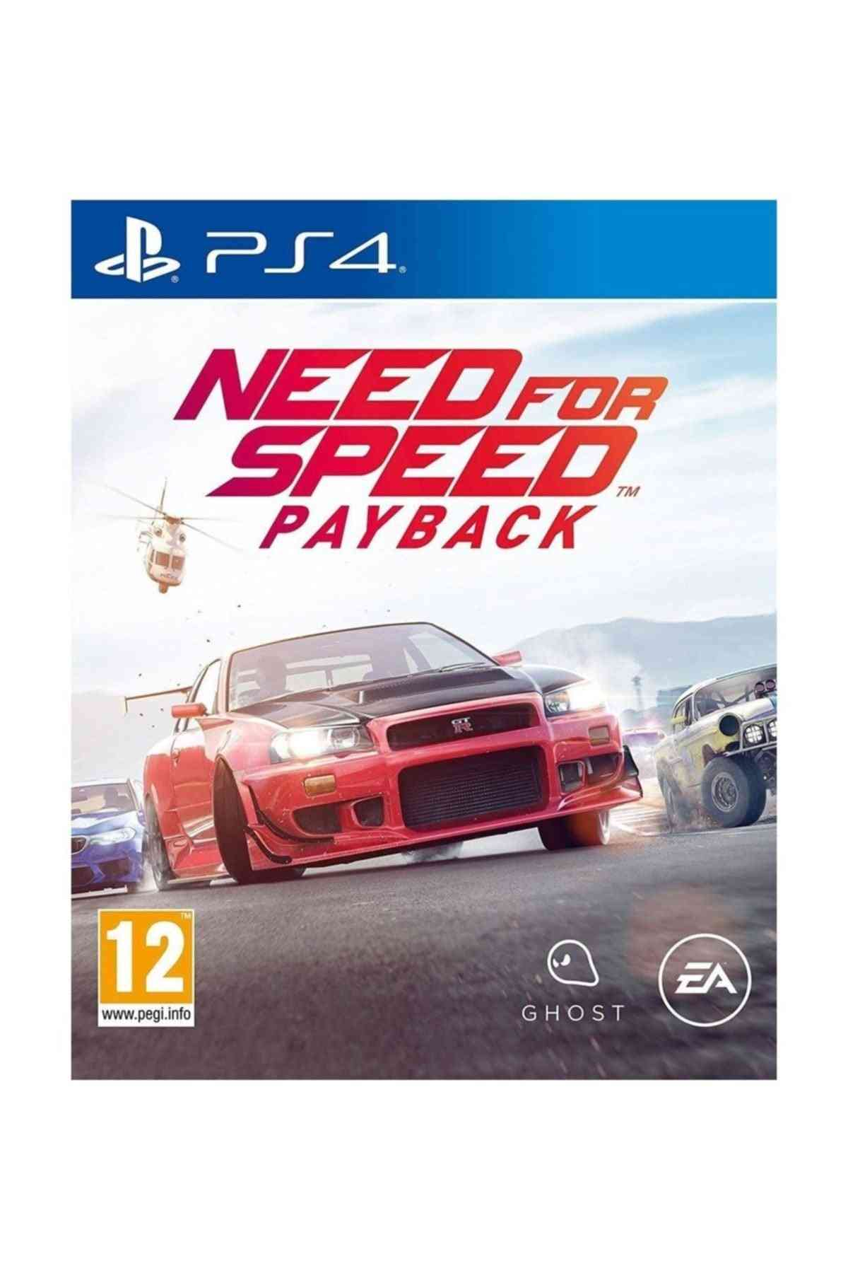 Need For Speed Of Electronic Arts Payback - Playstation 4