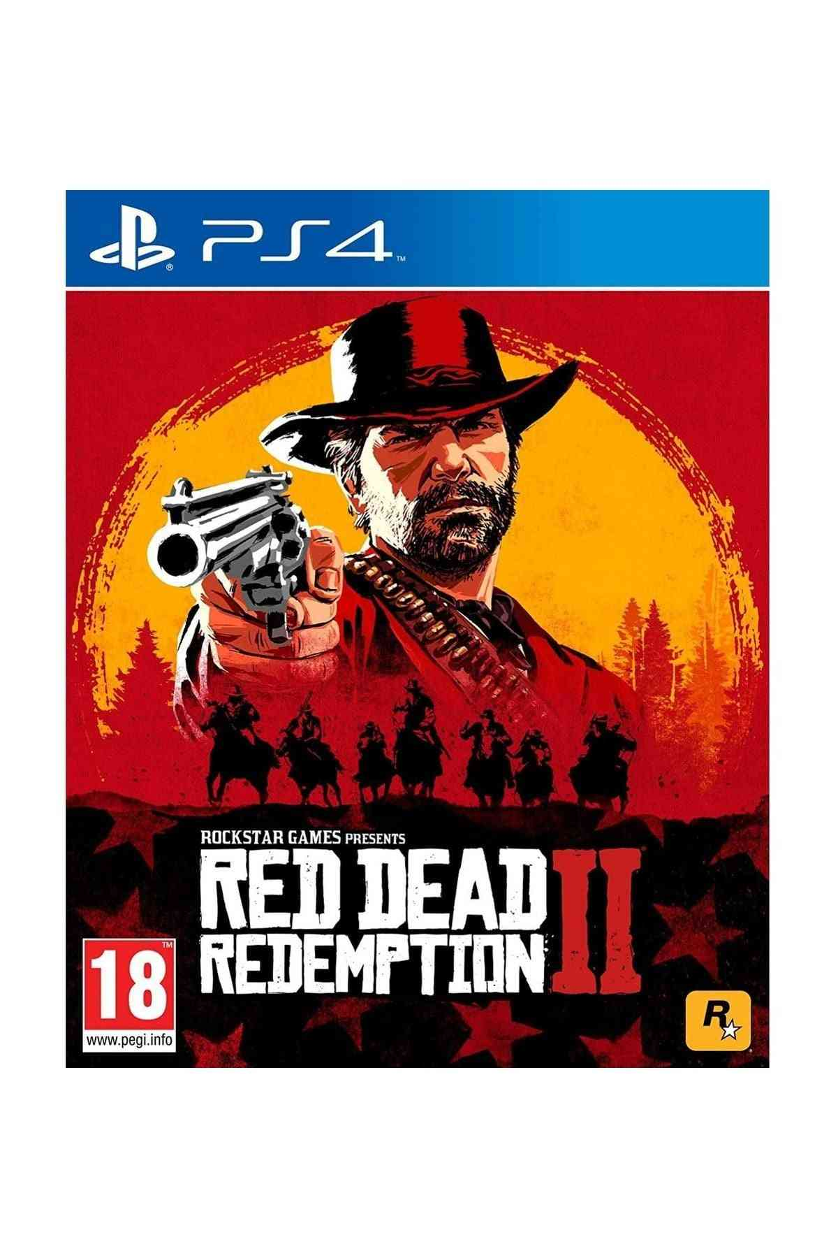 Red Dead Redemption 2-ps4 Game