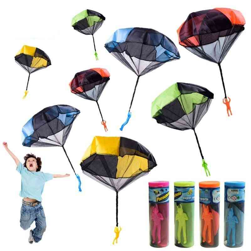 Hand Throw Mini Soldier Parachute Educational, Indoor Outdoor Games