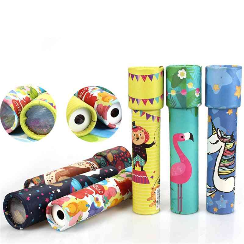 1pc Rotating Kaleidoscope Imaginative Interactive - Logical Educational Toy For Kids