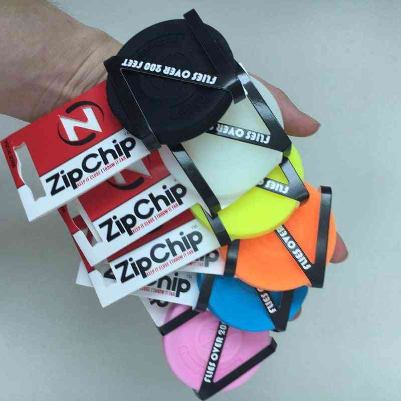 Mini Pocket Flexible Zip Chip Flying Discs Spin Catching Game