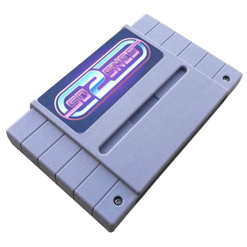 X Snes Sd2 Por Retro Game Card, Super Alpha 16-bit Video Game Card For Us Game Console