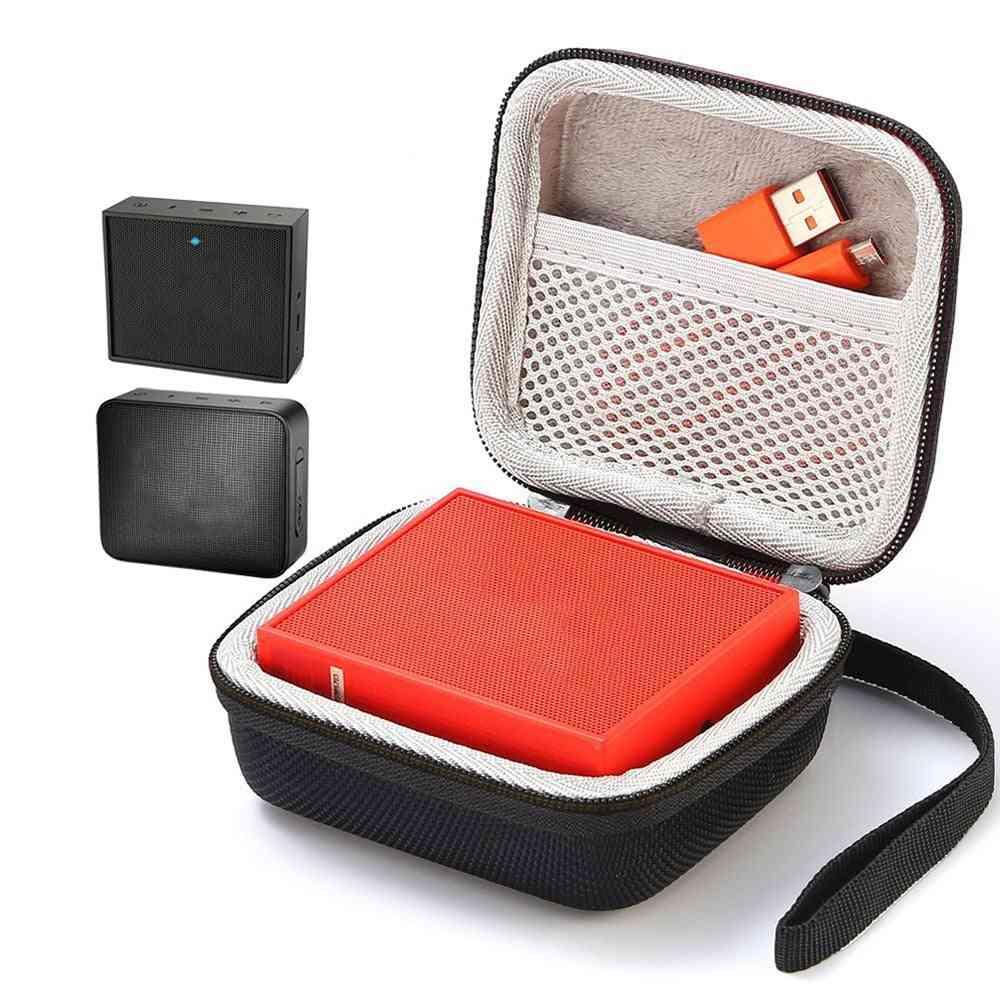 Kvadratisk högtalarväska reseöverdrag för go go 2 Bluetooth-högtalare ljudbox -